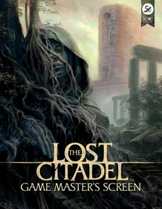 The Lost Citadel Roleplaying GM Screen