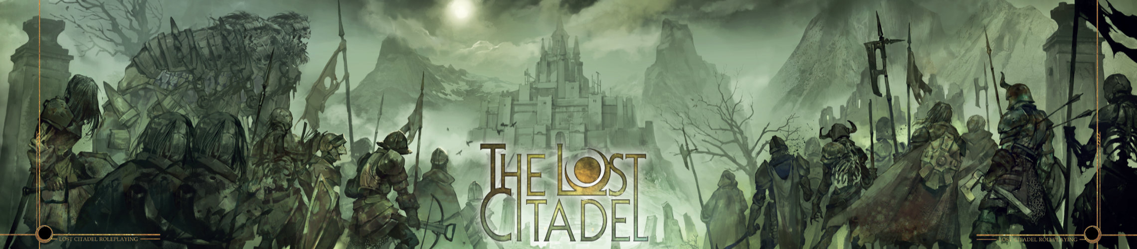 The Lost Citadel Roleplaying GM Screen Front
